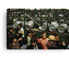 CG11 Covent Garden Beer Festival, London, 1975. Canvas Print