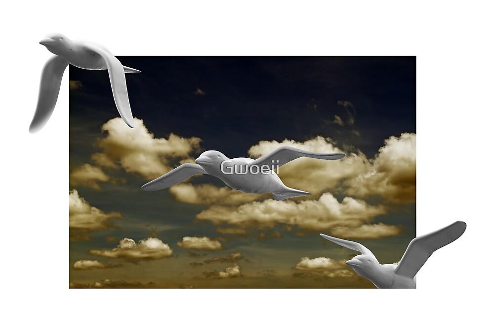 Freedom Flight. by Gwoeii