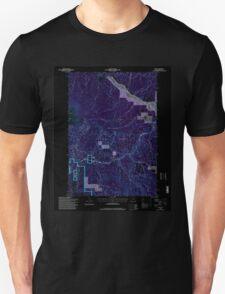 USGS Topo Map Oregon Bates 278952 1996 24000 Inverted T-Shirt