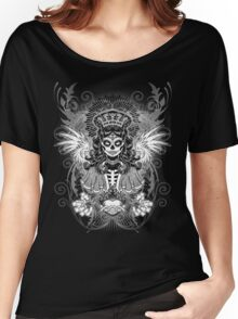 LADY MUERTE Women's Relaxed Fit T-Shirt