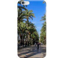 Alicante, Explanada de España iPhone Case/Skin
