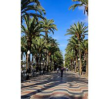 Alicante, Explanada de España Photographic Print