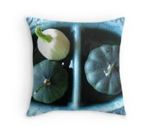 Acorn Butternut Squash Still Life  Throw Pillow