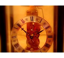 Time's UP  ^ Photographic Print