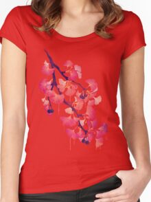 O Ginkgo Women's Fitted Scoop T-Shirt
