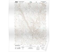 USGS Topo Map Oregon Coffeepot Creek 20110727 TM Poster