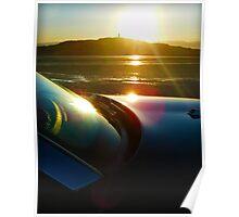 Sunset over Strangford Poster