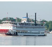 The Belle Of Louisville- On the Mighty Ohio River Louisville, KY summer 2010 by mimi5x