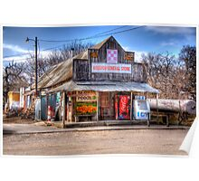General Store _ Rosston, Texas Poster