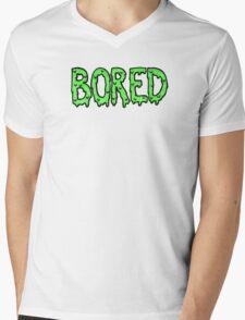 BORED - green Mens V-Neck T-Shirt