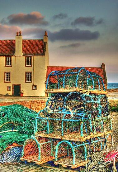 Lobster Creels by Don Alexander Lumsden (Echo7)