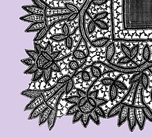 1892 design from a lace-making manual by gumbogirlonline