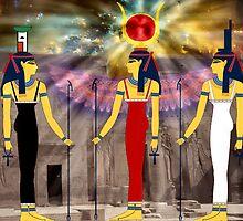 The Triple Goddess by Adolph Hernandez