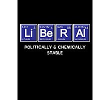 Liberal Chemistry Photographic Print
