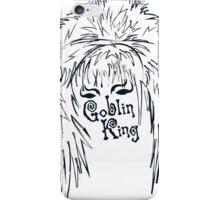 David Bowie Goblin King iPhone Case/Skin