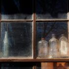 Bottles in the window by bcollie