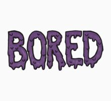 BORED - purple One Piece - Short Sleeve