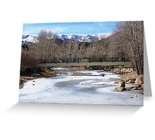 ESTES PARK SCENERY Greeting Card