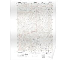 USGS Topo Map Oregon Red Butte 20110722 TM Poster