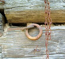 Chains on a Cabin by FlightsofFancie