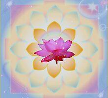 Galactic Lotus  by Jacqui Fae
