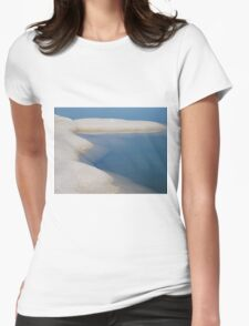 Salt Lagoon Womens Fitted T-Shirt