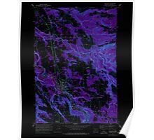 USGS Topo Map Oregon Estacada 279821 1960 24000 Inverted Poster
