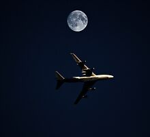 Fly me to the moon  by larry flewers