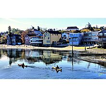 Coupeville Kayakers One Photographic Print