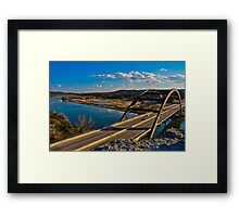 360 Bridge Overlook January 30th 2011 Framed Print