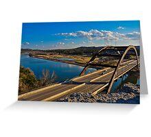 360 Bridge Overlook January 30th 2011 Greeting Card