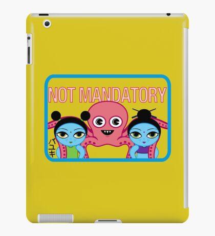 "Fruity Oaty Bar! ""NOT MANDATORY"" Shirt (Firefly/Serenity) iPad Case/Skin"