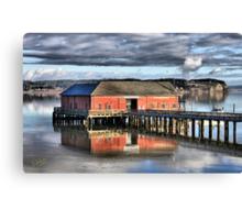 Coupeville Wharf Canvas Print