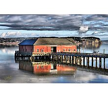 Coupeville Wharf Photographic Print