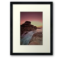 Rock Temple Framed Print