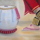 Rhythm of India by Sharlene  Schmidt