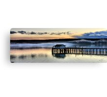 Sunset Pier Five Canvas Print