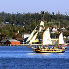 Tall Ships in Coupeville by Rick Lawler