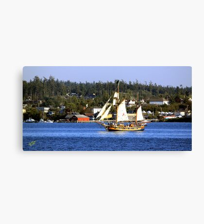 Tall Ships in Coupeville Canvas Print