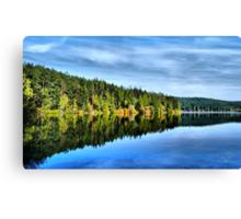 Pass Lake Fall Reflection Three Canvas Print