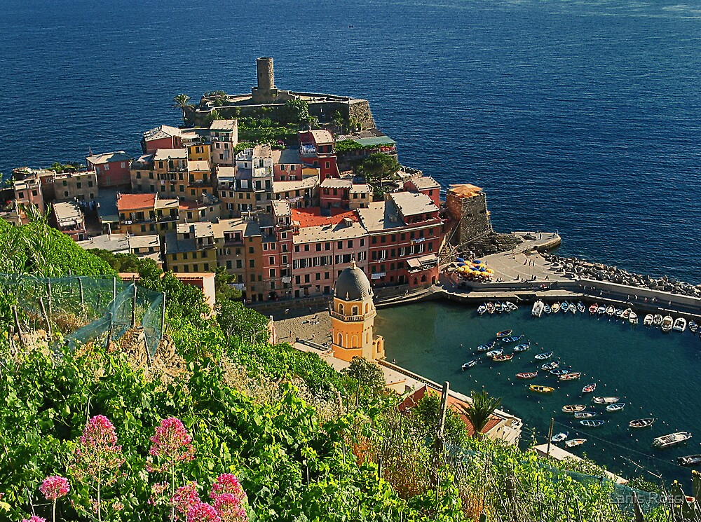Vernazza, Crown Jewel of the Cinque Terre by Lanis Rossi
