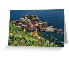 Vernazza, Crown Jewel of the Cinque Terre Greeting Card