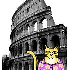 Claude Visits the Colosseum by Daogreer Earth Works