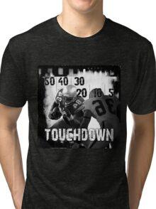 50..30..10..Touchdown! Tri-blend T-Shirt