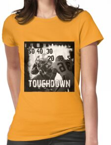50..30..10..Touchdown! Womens Fitted T-Shirt