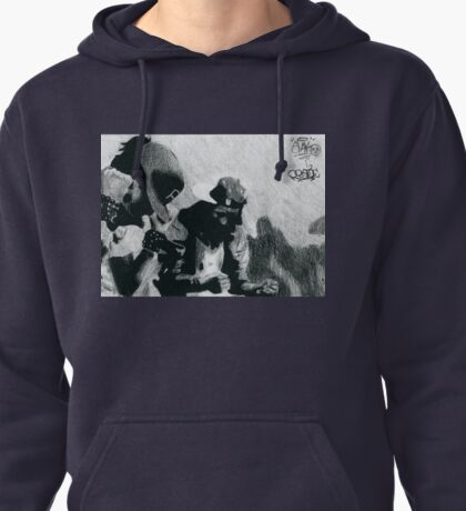 Les Twins Charcoal Pullover Hoodie