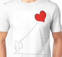 Love kite Unisex T-Shirt