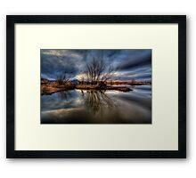 Swamp Sliver Framed Print