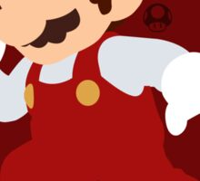 Mario (Fire) - Super Smash Bros. Sticker