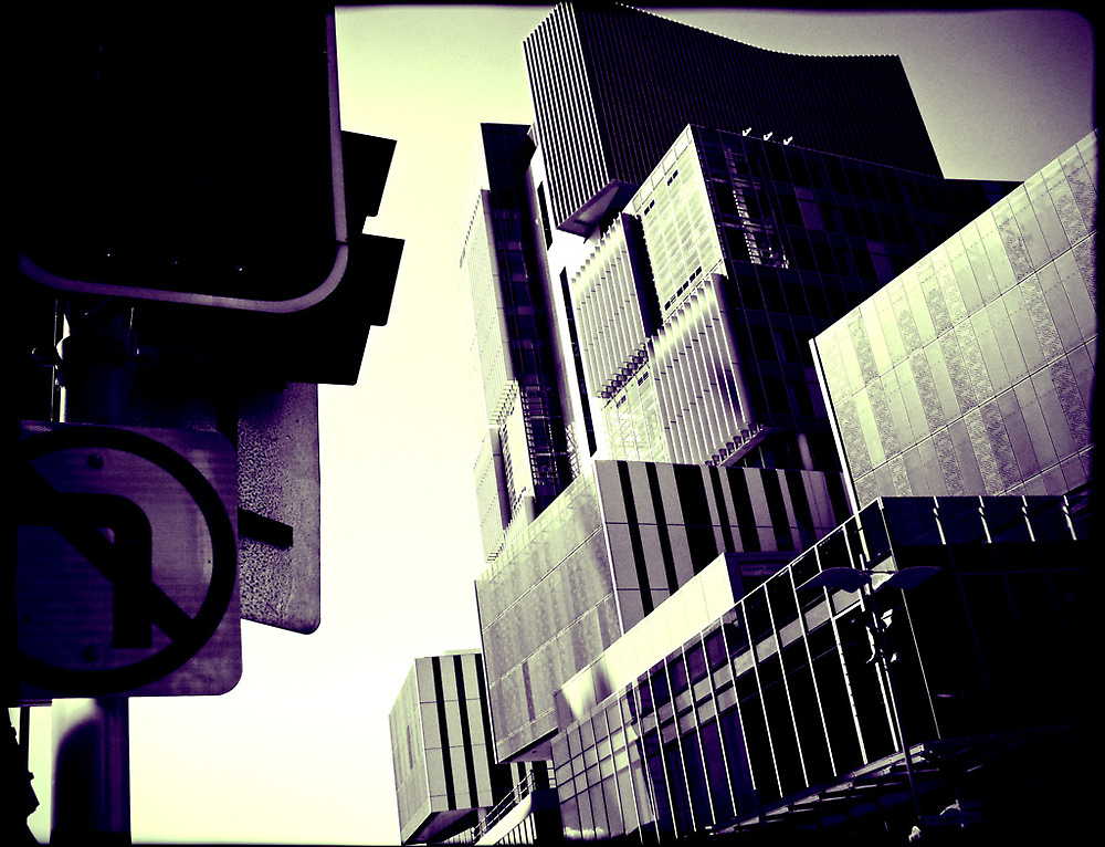 Tetris on Streets, Filter Work by Nutopia